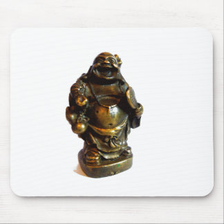 Laughing Buddha Mouse Pad