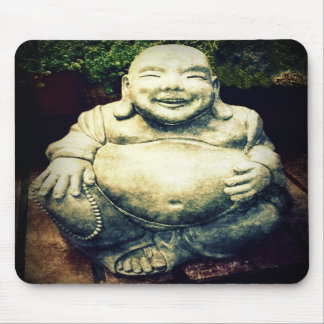 Laughing Buddha Mouse Pad