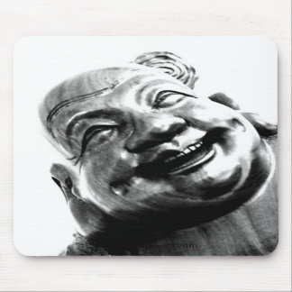 Laughing Buddha Mouse Pads
