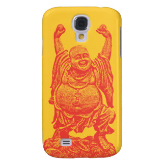 Laughing Buddha (red) Galaxy S4 Cover