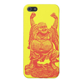 Laughing Buddha (red) iPhone 5 Case