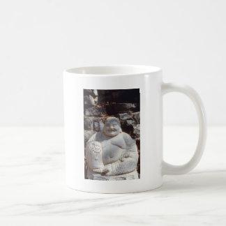 Laughing Buddha Statue Coffee Mug