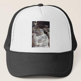 Laughing Buddha Statue Trucker Hat