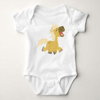 Laughing Cartoon Pony Baby apparel Baby Bodysuit
