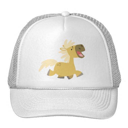 Laughing Cartoon Pony Hat