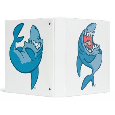 design cartoon shark
