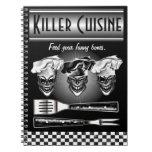 Laughing Chef Skulls Notebooks
