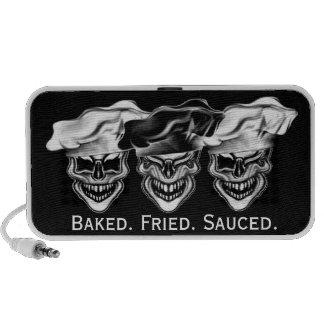 Laughing Chef Skulls Speaker
