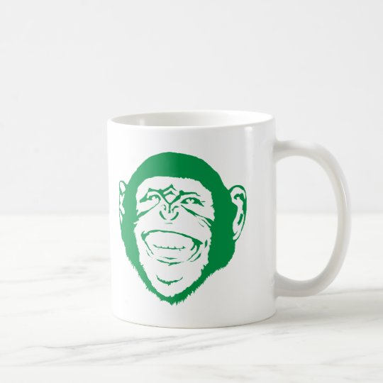 Laughing Chimp Coffee Mug