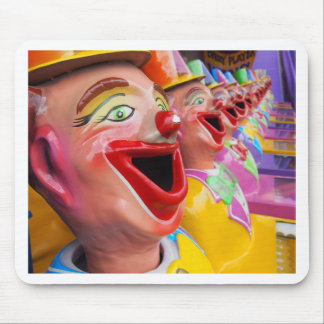 Laughing Clowns Mouse Pad