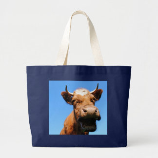 Laughing cow canvas bags