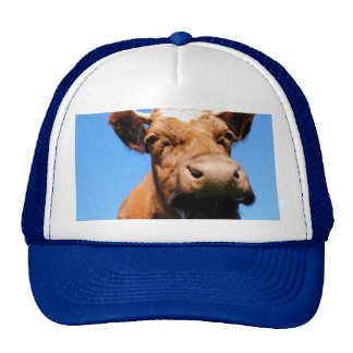 Laughing cow trucker hat