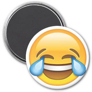 Laughing Crying Tears of Joy emoji Magnet