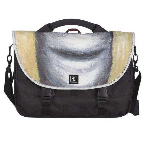 Laughing Cyclops (surrealism monster portrait ) Laptop Bag