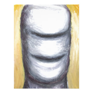 Laughing Cyclops (surrealism monster portrait ) Letterhead