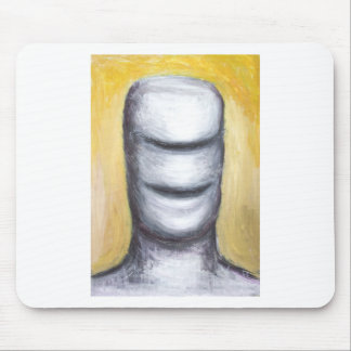 Laughing Cyclops (surrealism monster portrait ) Mouse Pad