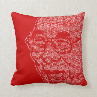 Laughing Dalia Lama Throw Pillow