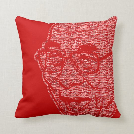 Laughing Dalia Lama Throw Pillow