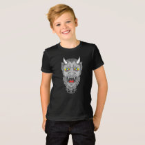 Laughing Devil Illustration T-Shirt