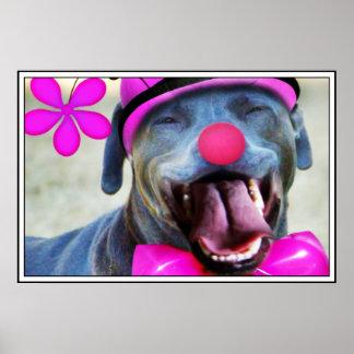 Laughing Dog Print