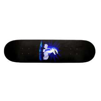 Laughing dolphin skateboard deck