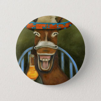 Laughing Donkey Button