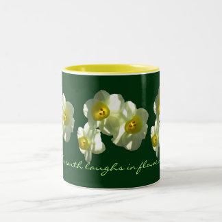 Laughing Earth Spring Narcissus Mug