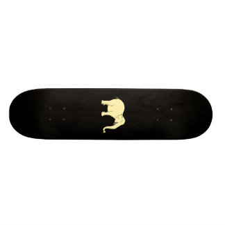 Laughing Elephant. Yellow. Skate Deck