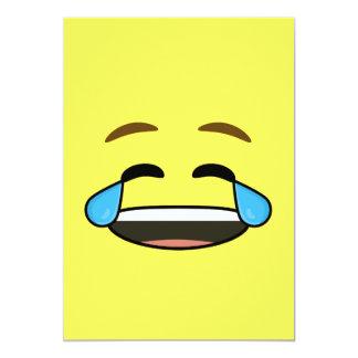 Laughing Emoji Card