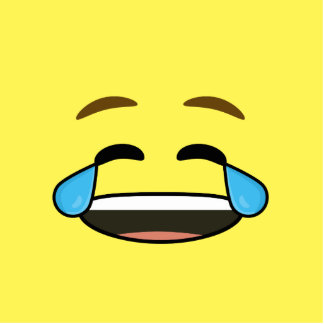 Laughing Emoji Cutout