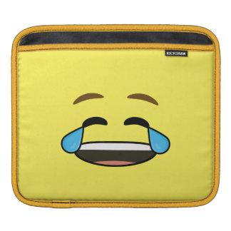 Laughing Emoji iPad Sleeve