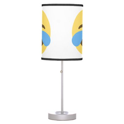 Rainbow Emoji Bedroom Lamp | Zazzle.com