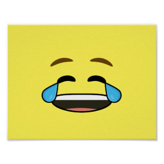 Laughing Emoji Poster