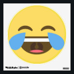 "Laughing Emoji Wall Decal<br><div class=""desc"">Laughing Emoji Wall Decal</div>"