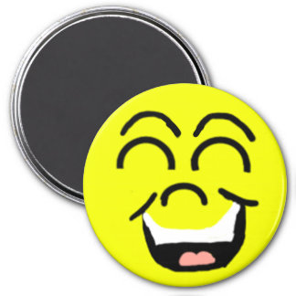 Laughing face Magnet