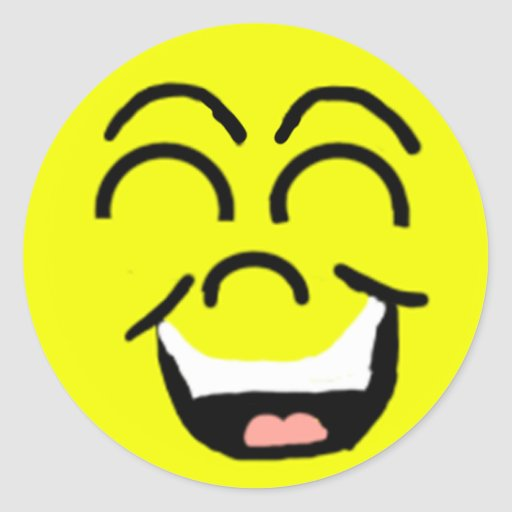 Laughing Face Sticker