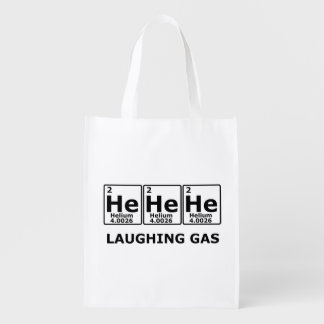 Laughing Gas Grocery Bag