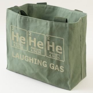 Laughing Gas Tote