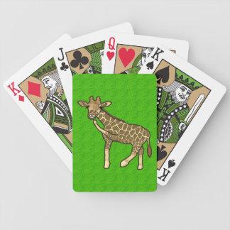 Laughing Giraffe Bicycle Playing Cards