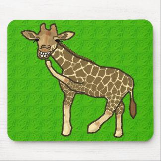 Laughing Giraffe Mousepad