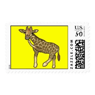 Laughing Giraffe Postage