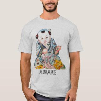 Laughing Good Luck Buddha Asian Buddhist art T-Shirt