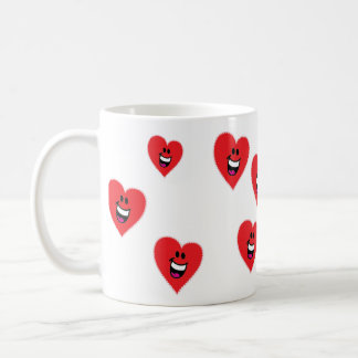 Laughing Heart Face Mug