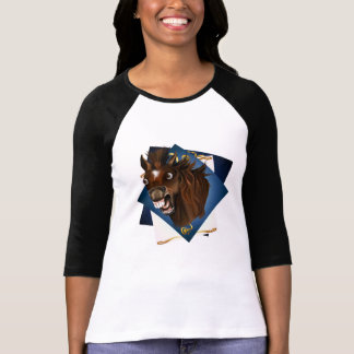 Laughing Horse Expressions with BG T-Shirt