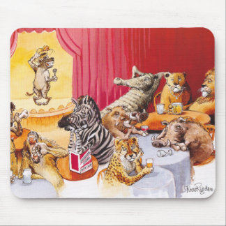 Laughing hyena mouse pad