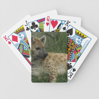 Laughing Hyenas Deck of Cards Bicycle Playing Cards
