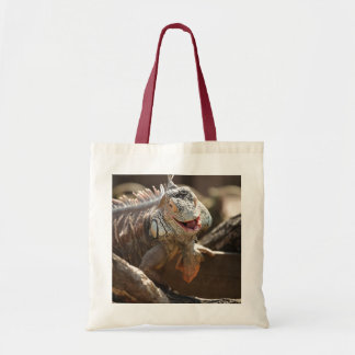 Laughing Iguana Photo Tote Bag