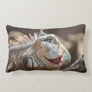 Laughing Iguana Photography Lumbar Pillow