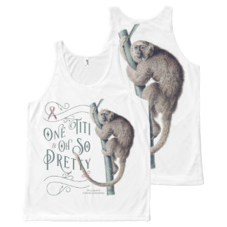 Laughing in the Face of Breast Cancer All-Over-Print Tank Top