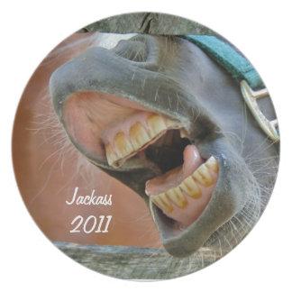 Laughing Jackass 2011 Plate